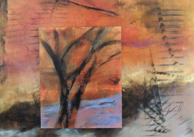 Windward   oil on wood  16x20
